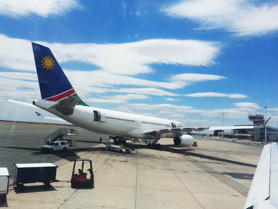 Internationaler Flughafen in Windhoek
